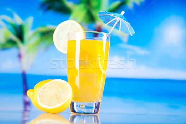 Cocktails, alcohol drink, natural colorful tone Stock photo © JanPietruszka