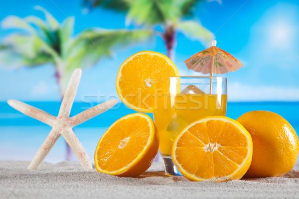 Exótico alcohol bebidas naturales colorido alimentos Foto stock © JanPietruszka