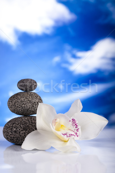 Stock photo: Balanced zen stones