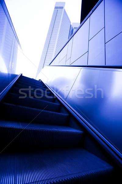 Modern bina parlak renkli iş ofis Bina Stok fotoğraf © JanPietruszka