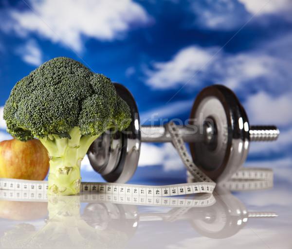 Fogyókúra fitnessz egészség izom kövér friss Stock fotó © JanPietruszka