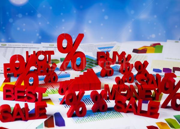 Symbol percent, Concept of discount  Stock photo © JanPietruszka