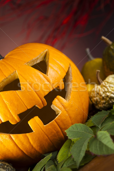 Scary Jack, halloween pumpkin Stock photo © JanPietruszka