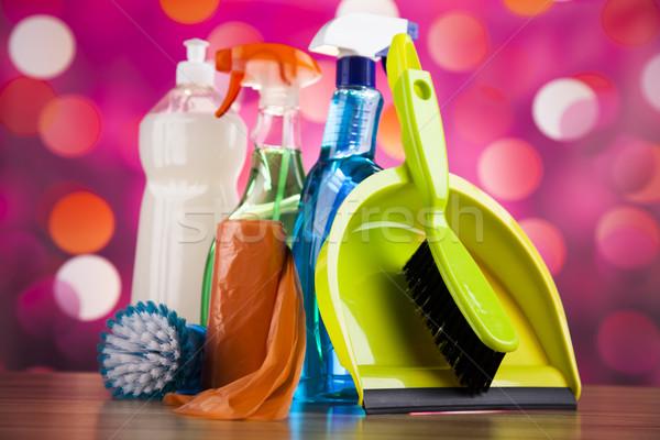 разнообразие очистки работу домой группа бутылку Сток-фото © JanPietruszka