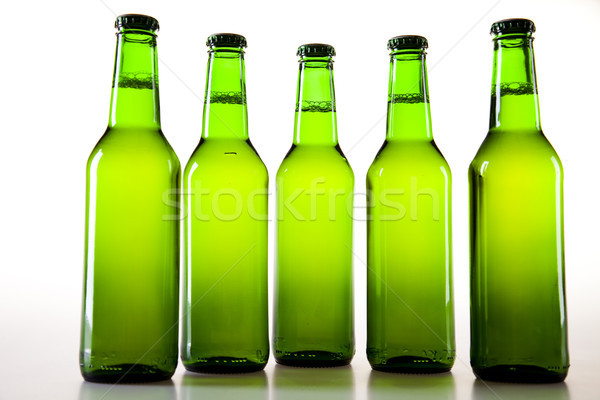 The still life with beer, bright vibrant alcohol theme Stock photo © JanPietruszka