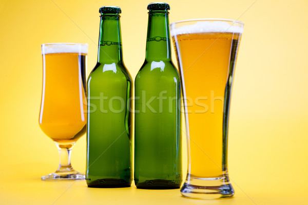 Stock photo:  Still life with beer