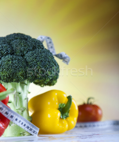 Fitness Food, diet, Vegetable and sunshine   Stock photo © JanPietruszka