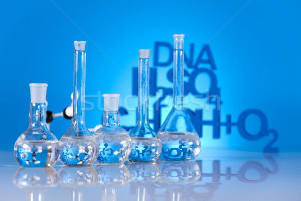 Сток-фото: химии · формула · медицина · науки · бутылку · лаборатория