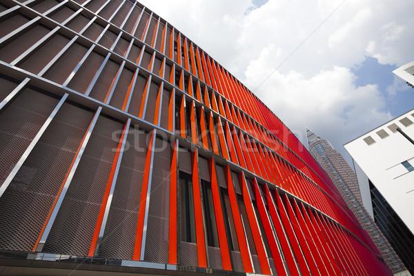 современное здание бизнеса центр служба город строительство Сток-фото © JanPietruszka
