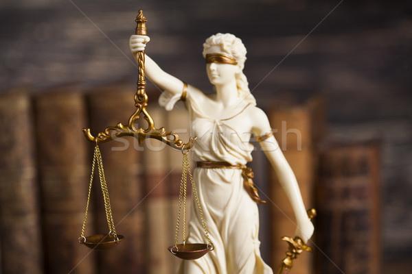 Statue of lady justice, Law concept  Stock photo © JanPietruszka