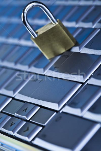 безопасности интернет современных сеть бизнеса Сток-фото © JanPietruszka