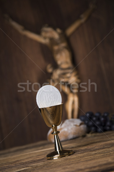 Eucharist, sacrament of communion Stock photo © JanPietruszka