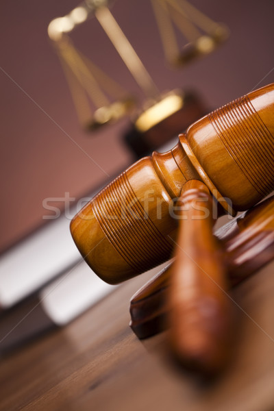 Justice concept  Stock photo © JanPietruszka