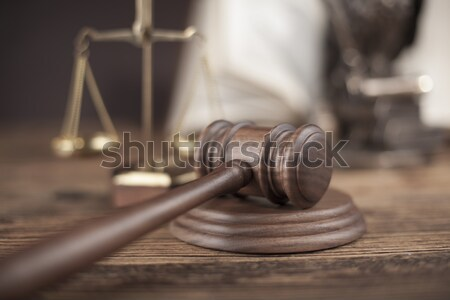 Gavel, Mallet of justice concept Stock photo © JanPietruszka
