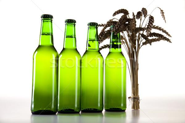 Beer, bright vibrant alcohol theme Stock photo © JanPietruszka