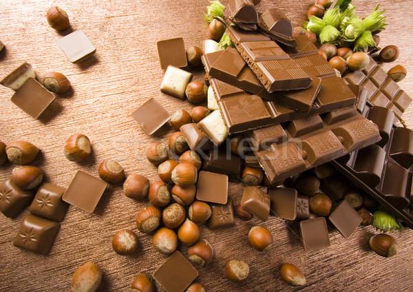 Doce dom cores naturalismo chocolate Foto stock © JanPietruszka