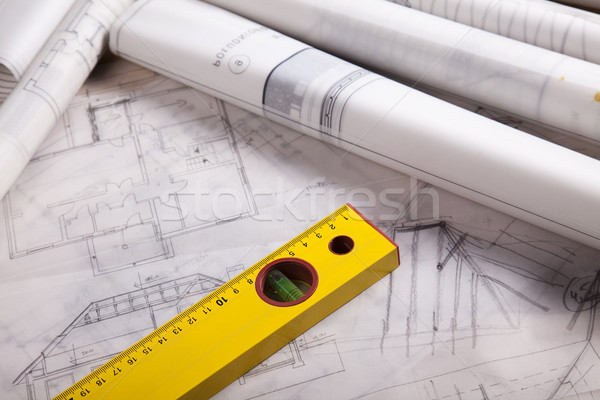 住宅 プロジェクト アーキテクチャ 芸術 科学 建物 ストックフォト © JanPietruszka