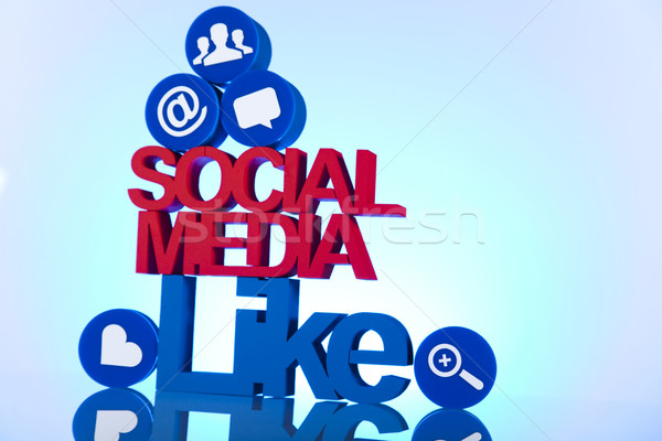 Like, Internet concept Stock photo © JanPietruszka