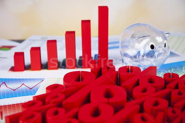 Percentage, Concept of discount colorful tone  Stock photo © JanPietruszka