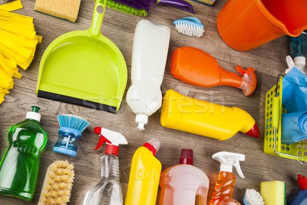 家 洗浄 製品 クリーニング製品 ホーム ストックフォト © JanPietruszka