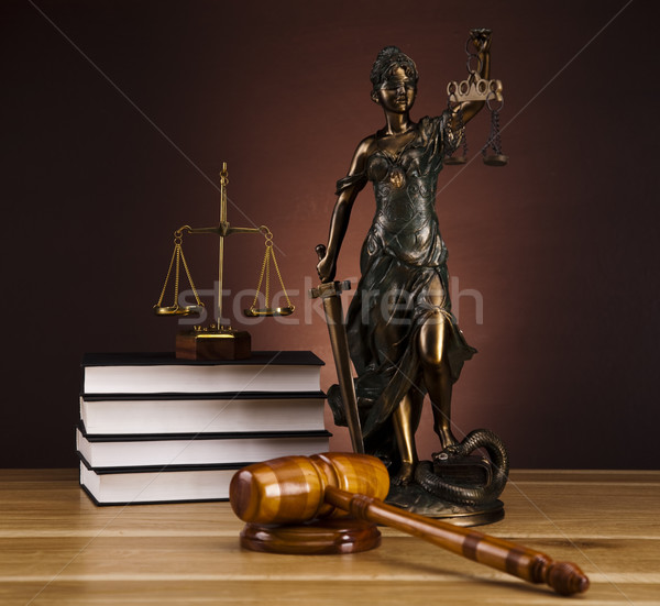 God of law  Stock photo © JanPietruszka