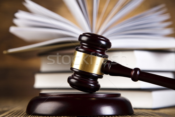 судья адвокат суд объект молоток аукционе Сток-фото © JanPietruszka