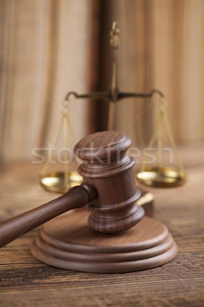 прав правосудия правовой Код молота суд Сток-фото © JanPietruszka