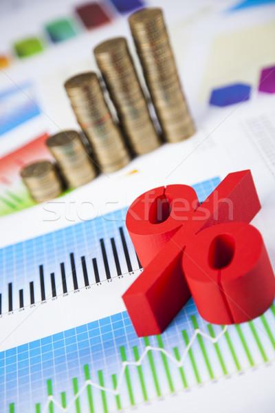 Stock photo: Symbol percent, Concept of discount