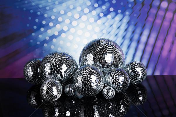 Disco sonores vagues musique nouvelles Photo stock © JanPietruszka