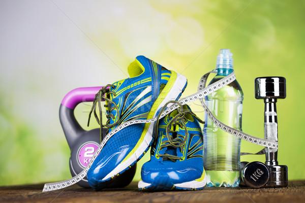 Gezondheid fitness dieet Stockfoto © JanPietruszka