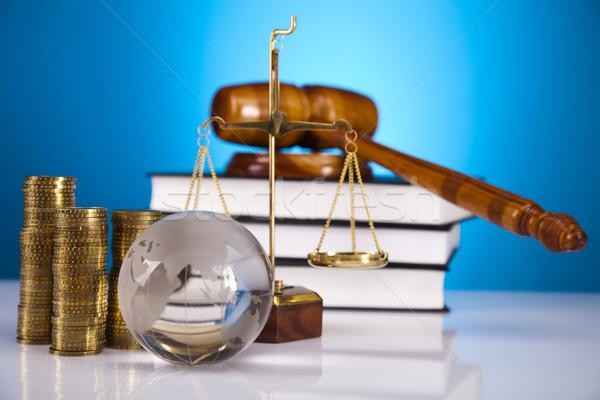 Foto d'archivio: Legge · giudice · legno · martelletto · legno · martello