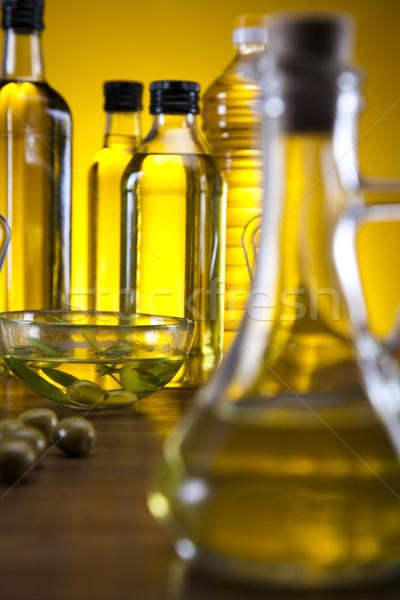 Extra virgen aceite de oliva árbol alimentos sol Foto stock © JanPietruszka