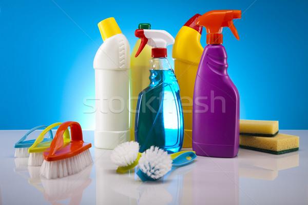 Stok fotoğraf: Ev · temizlik · ürün · çalışmak · ev · şişe