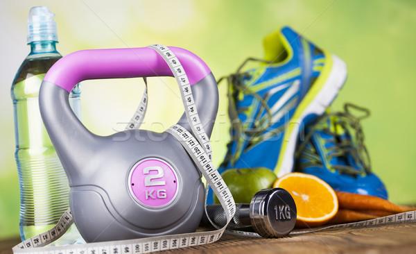 Fitness dieta vitaminas esportes fruto Foto stock © JanPietruszka