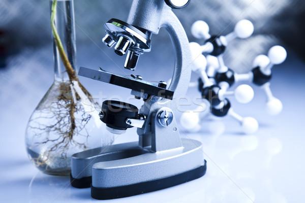 Laboratuvar biyo organik modern tıp bilim Stok fotoğraf © JanPietruszka