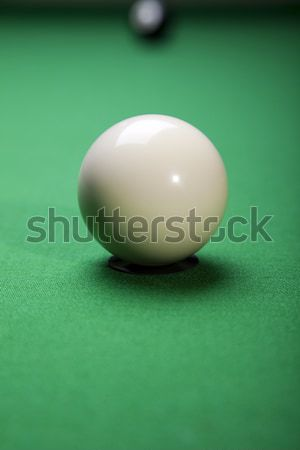 Billiard balls, pool, vivid colors, natural tone Stock photo © JanPietruszka