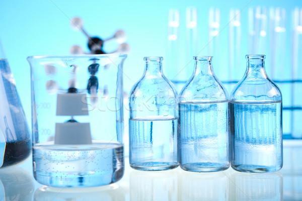 Estéril laboratório vidro médico lab químico Foto stock © JanPietruszka