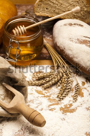 Backed goods, Bread Stock photo © JanPietruszka