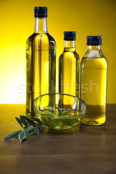 свежие оливками оливкового масла дерево солнце фрукты Сток-фото © JanPietruszka