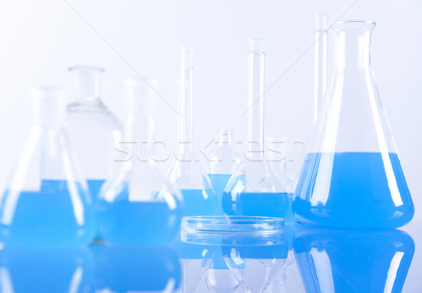 Chemical laboratory glassware  Stock photo © JanPietruszka