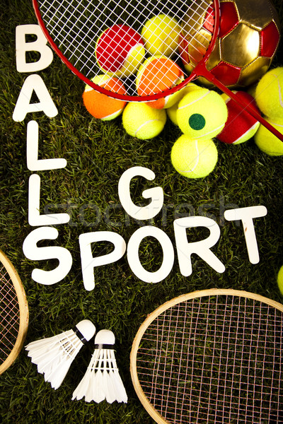 Stock photo: Game, Sports Equipment, natural colorful tone
