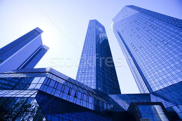 City background, bright colorful tone concept Stock photo © JanPietruszka