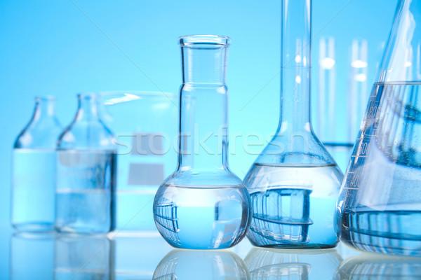 Stérile laboratoire verre médicaux laboratoire chimiques Photo stock © JanPietruszka