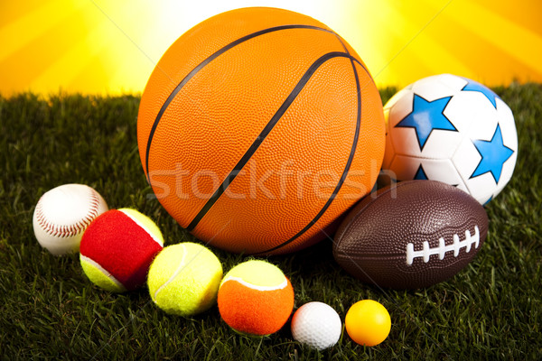 Sports Equipment detail, natural colorful tone Stock photo © JanPietruszka