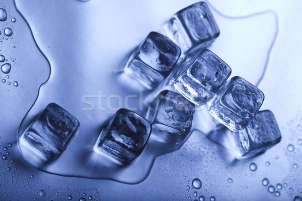 Background with ice cubes  Stock photo © JanPietruszka