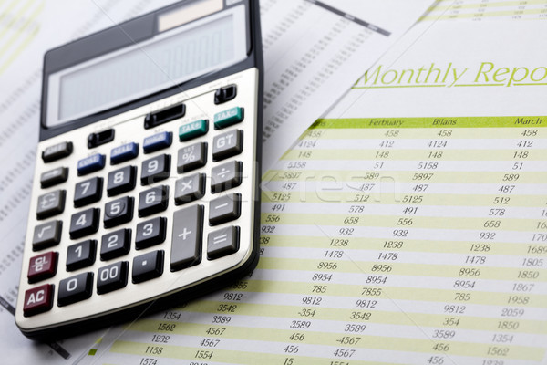 Finance Concept, bright colorful tone Stock photo © JanPietruszka