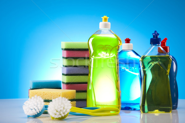 Set of cleaning products  Stock photo © JanPietruszka