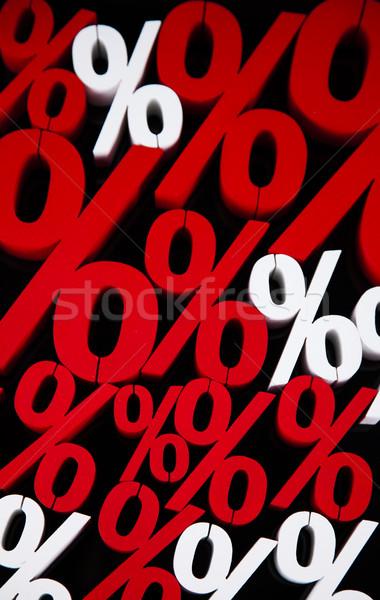 Concept of discount, Percent sign  Stock photo © JanPietruszka