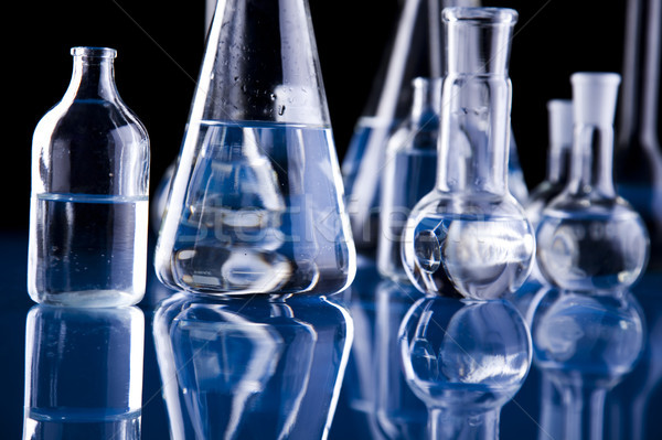 Laboratoire équipement lumineuses modernes chimiques verre Photo stock © JanPietruszka