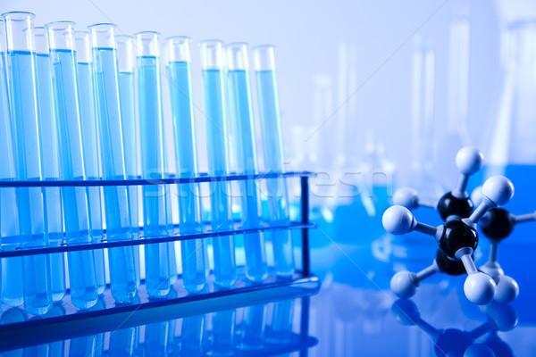 Chemical laboratory glassware  Stock photo © JanPietruszka